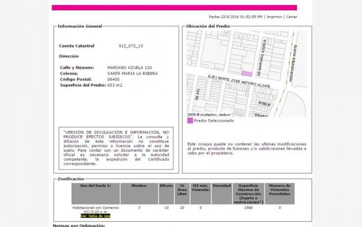 Foto de departamento en venta en mariano azuela 120, santa maria la ribera, cuauhtémoc, df, 2023776 no 03