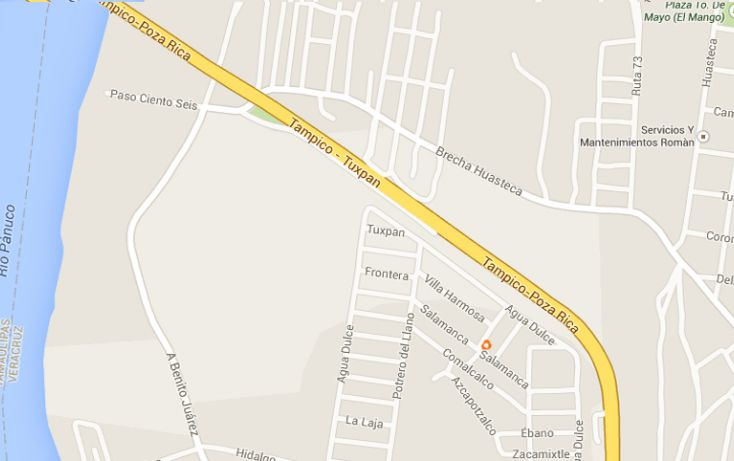 Foto de terreno habitacional en venta en, mata redonda, pueblo viejo, veracruz, 1042557 no 01