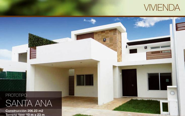 Foto de casa en venta en  , maya, mérida, yucatán, 1317871 No. 01