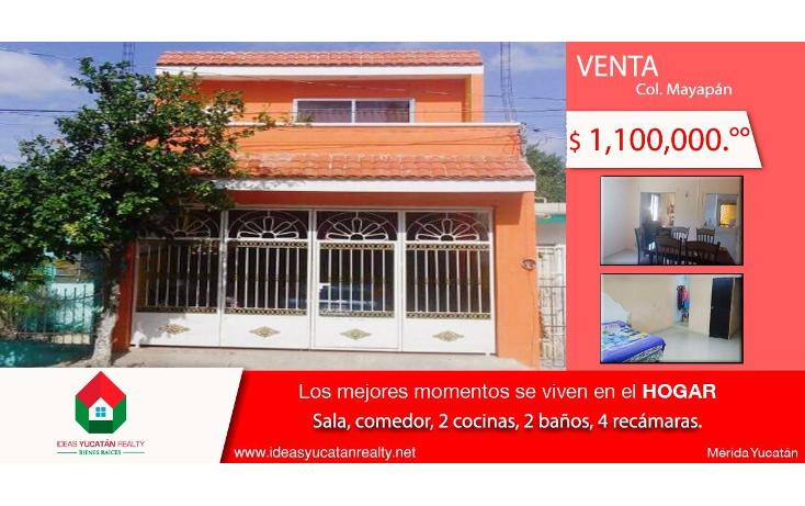 Foto de casa en venta en  , mayapan, mérida, yucatán, 2002724 No. 01