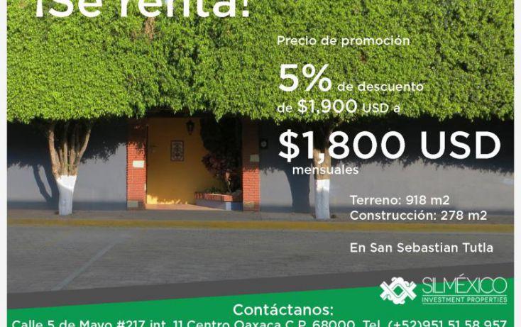 Foto de casa en renta en, mayorazgo, san sebastián tutla, oaxaca, 1612360 no 02