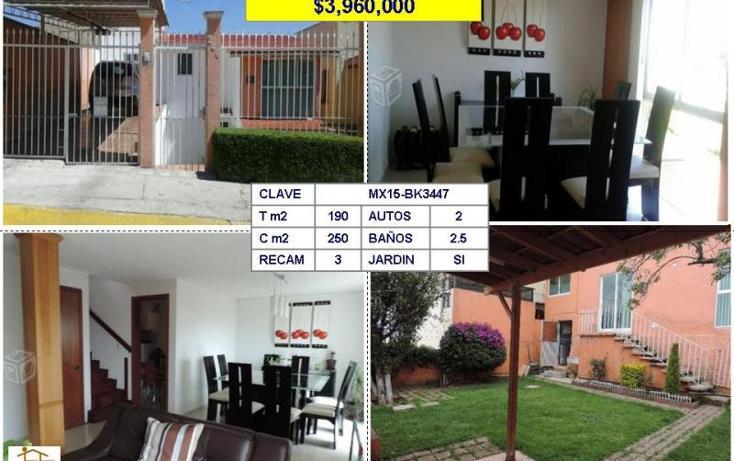 Foto de casa en venta en  , mayorazgos de la concordia, atizapán de zaragoza, méxico, 1431433 No. 01