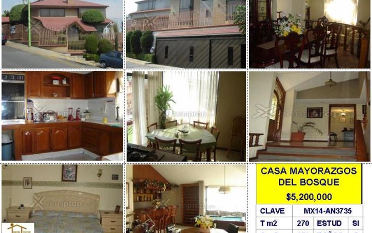 Foto de casa en venta en  , mayorazgos del bosque, atizapán de zaragoza, méxico, 376029 No. 01