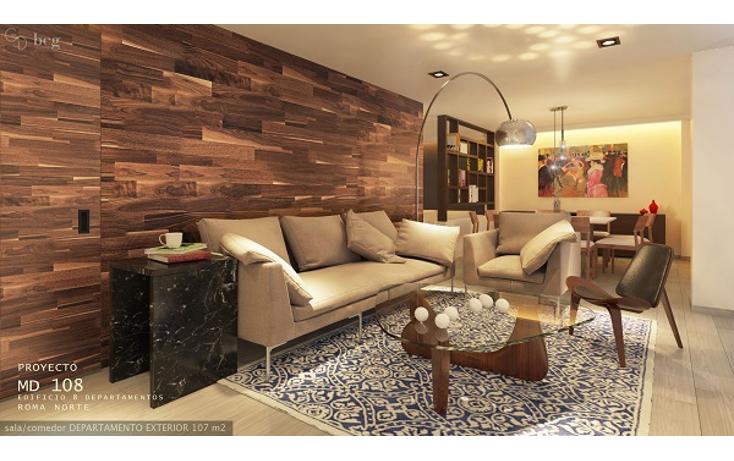 Foto de departamento en venta en medellín 108, roma norte, cuauhtémoc, distrito federal, 2410672 No. 03