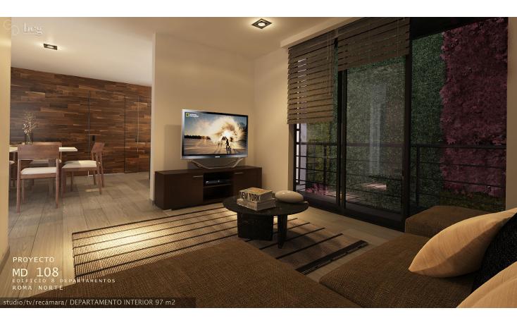 Foto de departamento en venta en medellín 108, roma norte, cuauhtémoc, distrito federal, 2410672 No. 06