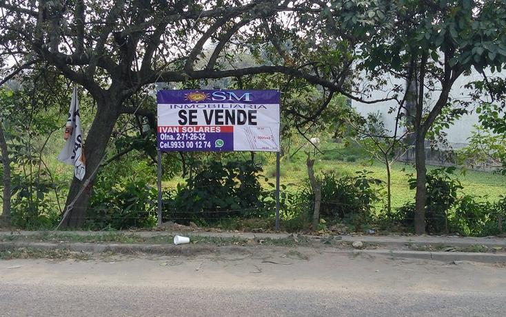 Foto de terreno comercial en venta en  , medellin y pigua 3a secc, centro, tabasco, 2632219 No. 01
