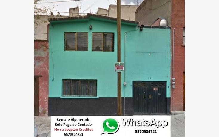 Foto de casa en venta en  1, peralvillo, cuauhtémoc, distrito federal, 1807350 No. 01