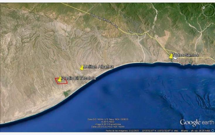 Foto de terreno habitacional en venta en sn , melitón albañez, la paz, baja california sur, 1433701 No. 09