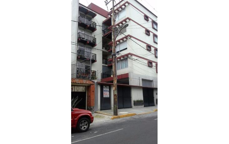 Foto de departamento en renta en  , merced gómez, álvaro obregón, distrito federal, 1270951 No. 01