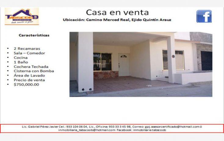 Foto de casa en venta en mercer real, costa real, paraíso, tabasco, 1734708 no 01