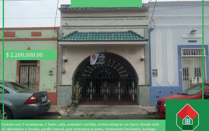 Foto de casa en venta en  , merida centro, mérida, yucatán, 1693840 No. 01