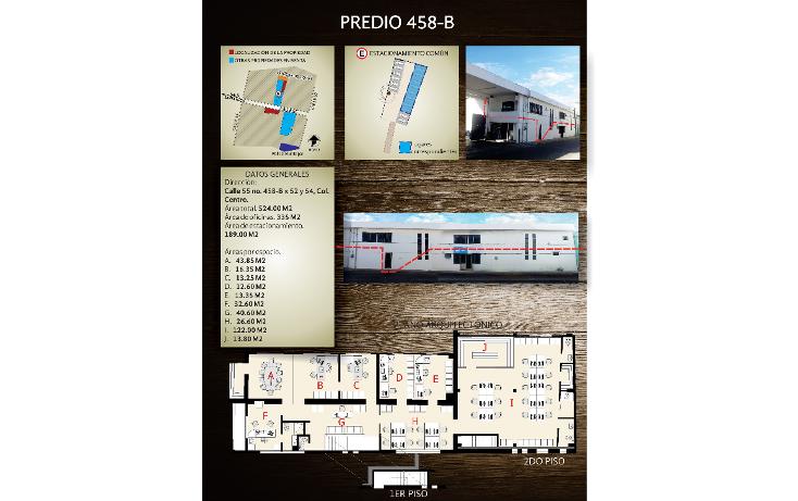 Foto de oficina en renta en  , merida centro, m?rida, yucat?n, 1771890 No. 04
