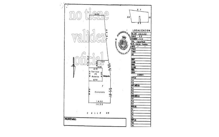 Foto de casa en venta en  , merida centro, mérida, yucatán, 1822868 No. 11