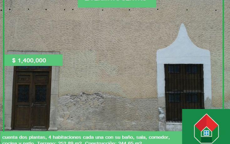 Foto de casa en venta en, merida centro, mérida, yucatán, 1904590 no 01