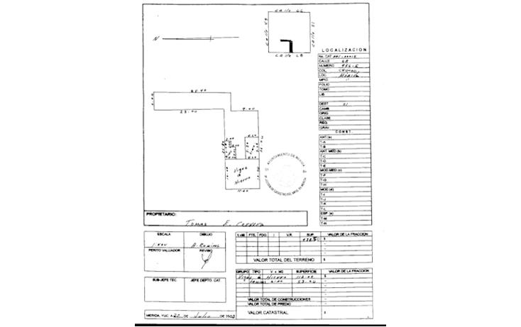 Foto de casa en venta en  , merida centro, m?rida, yucat?n, 887141 No. 02