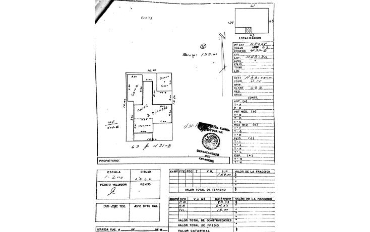 Foto de casa en venta en  , merida centro, m?rida, yucat?n, 936631 No. 46