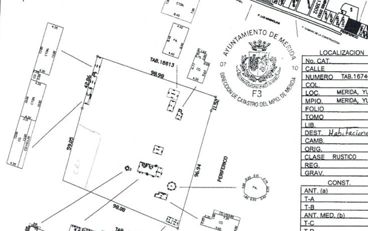 Foto de terreno comercial en venta en  , m?rida, m?rida, yucat?n, 1103701 No. 03