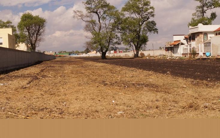 Foto de terreno habitacional en venta en  , metepec centro, metepec, méxico, 1150113 No. 01