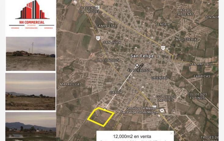 Foto de terreno habitacional en venta en metodista, arboledas de santa isabel, san felipe, guanajuato, 1340939 no 01