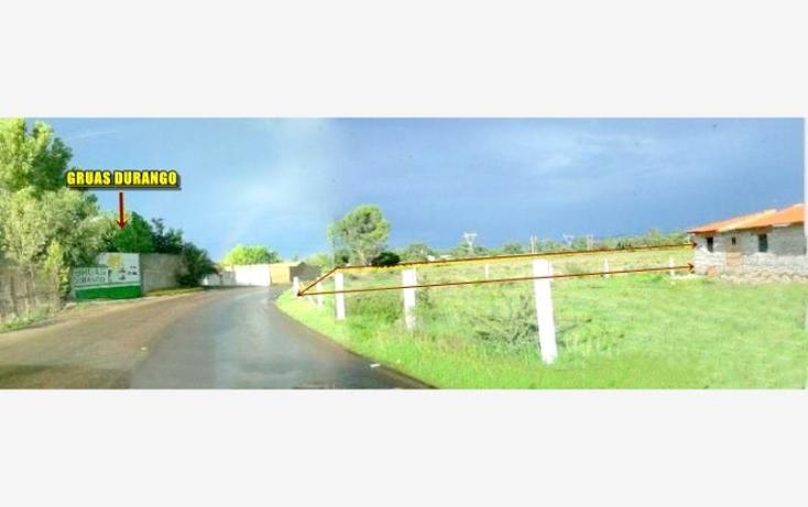 Foto de terreno comercial en venta en  , méxico, durango, durango, 602217 No. 07