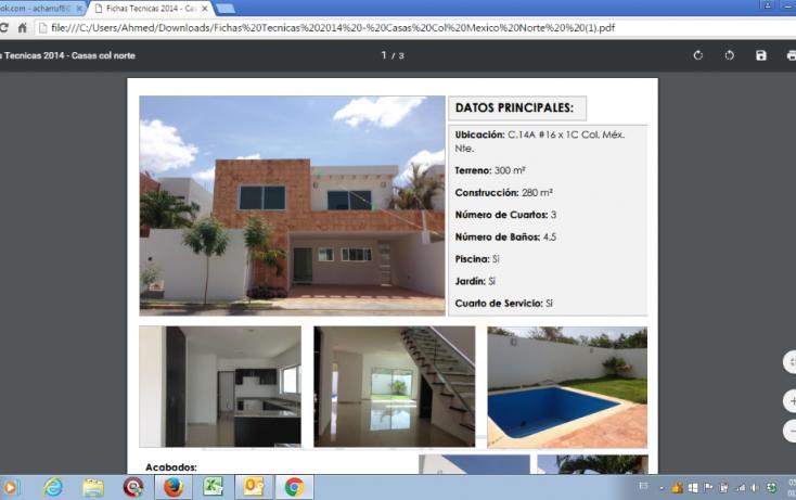 Foto de casa en venta en, méxico norte, mérida, yucatán, 1678718 no 01