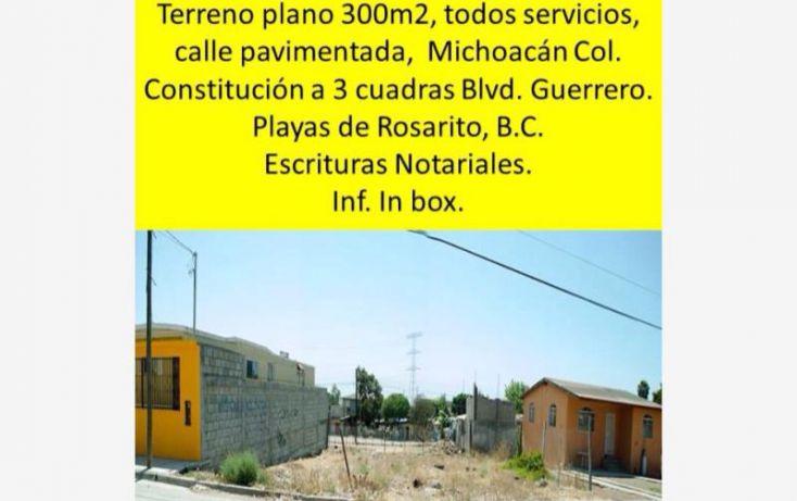 Foto de terreno habitacional en venta en michoacan 1103, 17 de agosto, playas de rosarito, baja california norte, 1734406 no 05