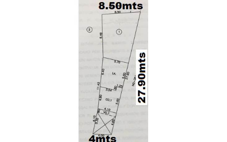 Foto de terreno habitacional en venta en  , miguel alemán, mérida, yucatán, 1417067 No. 01