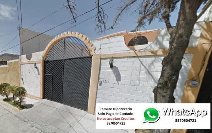 Foto de casa en venta en miguel de la rosa 0, zona industrial 2 (méxico nuevo), atizapán de zaragoza, méxico, 1740458 No. 01