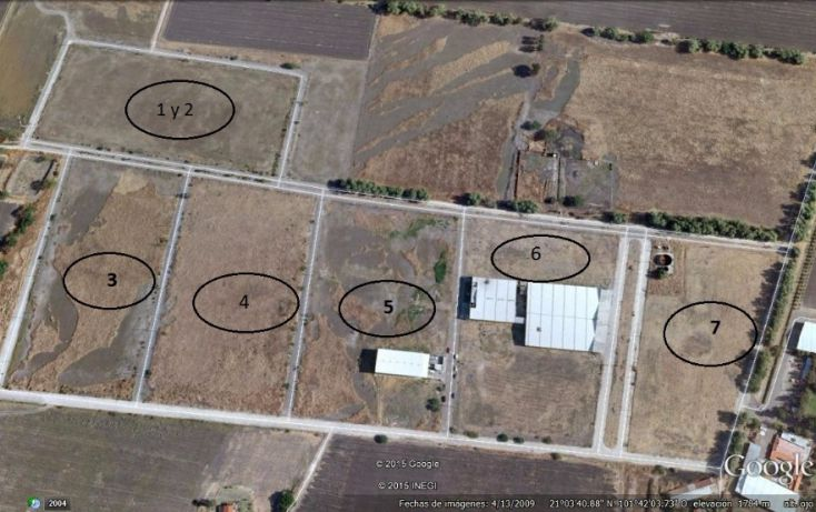 Foto de terreno habitacional en venta en miguel el indio l2 mz6, central de abastos, león, guanajuato, 1704268 no 05