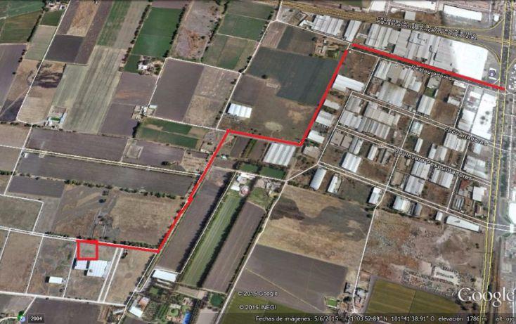 Foto de terreno habitacional en venta en miguel el indio l2 mz6, central de abastos, león, guanajuato, 1704268 no 06