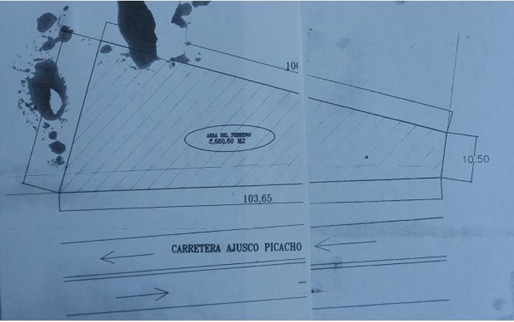 Foto de terreno comercial en venta en  , miguel hidalgo 4a sección, tlalpan, distrito federal, 1976182 No. 10