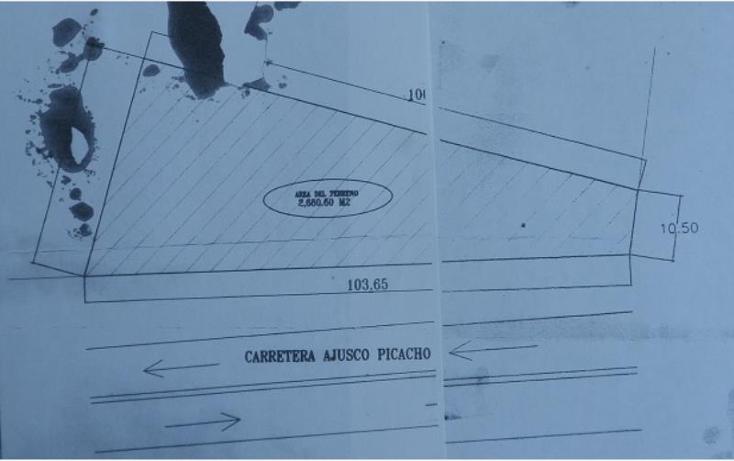 Foto de terreno comercial en venta en  , miguel hidalgo, tlalpan, distrito federal, 1988922 No. 10