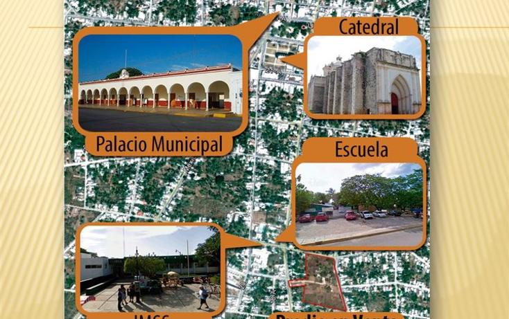 Foto de terreno habitacional en venta en  , miguel hidalgo, umán, yucatán, 1661908 No. 04