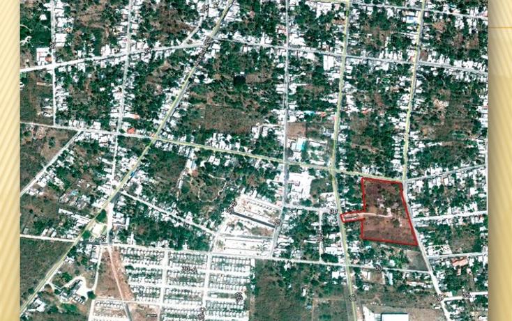 Foto de terreno habitacional en venta en  , miguel hidalgo, umán, yucatán, 1661908 No. 07