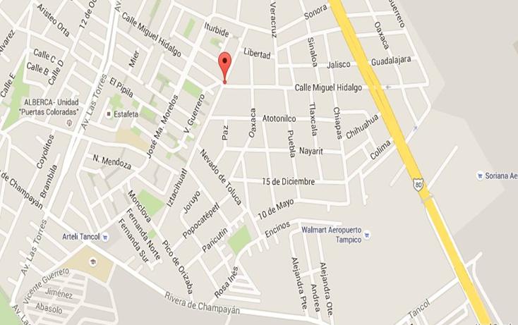 Foto de terreno habitacional en venta en miguel hidalgo y costilla 0, águila, tampico, tamaulipas, 2647975 No. 02