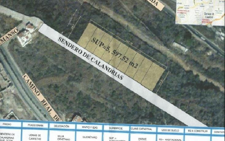Foto de terreno habitacional en venta en  , milenio iii fase a, querétaro, querétaro, 378101 No. 01