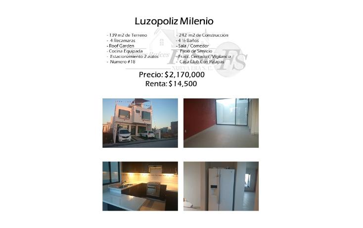 Foto de casa en venta en  , milenio iii fase b sección 10, querétaro, querétaro, 1625348 No. 01