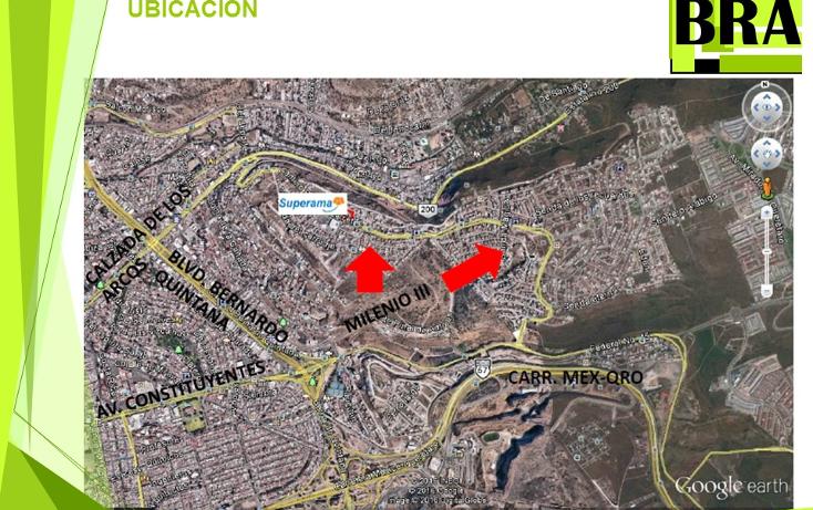 Foto de terreno habitacional en venta en  , milenio iii fase b sección 10, querétaro, querétaro, 1804060 No. 02