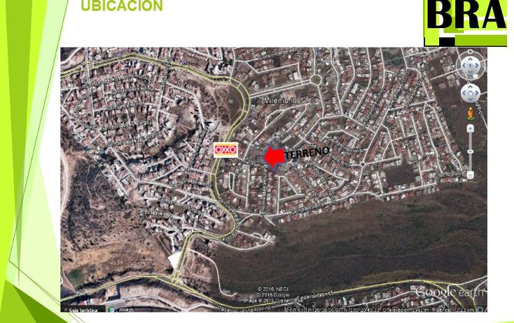 Foto de terreno habitacional en venta en  , milenio iii fase b sección 10, querétaro, querétaro, 1804060 No. 03
