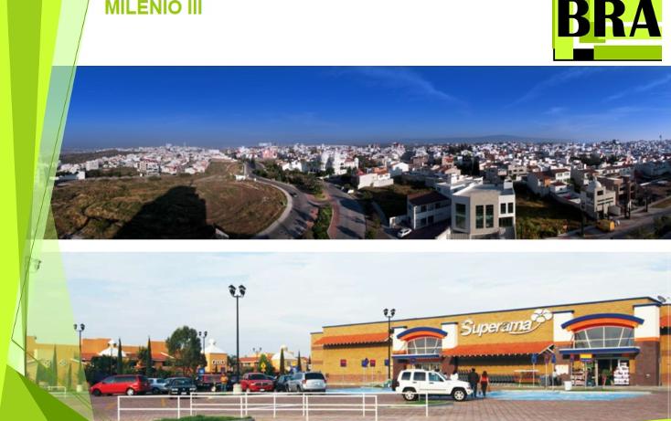 Foto de terreno habitacional en venta en  , milenio iii fase b sección 11, querétaro, querétaro, 1793822 No. 02