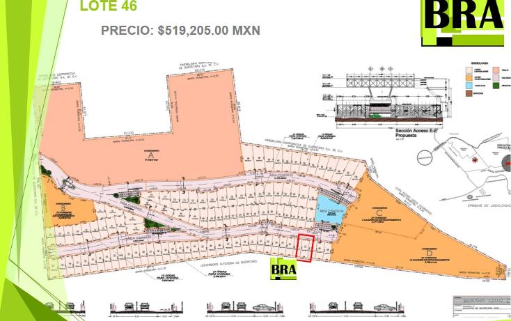 Foto de terreno habitacional en venta en  , milenio iii fase b sección 11, querétaro, querétaro, 1793822 No. 05
