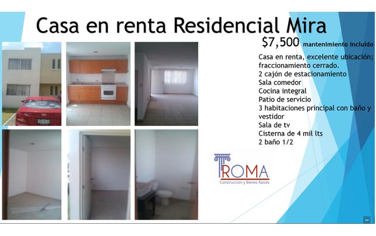 Foto de casa en renta en  , mira, san andr?s cholula, puebla, 1452225 No. 09