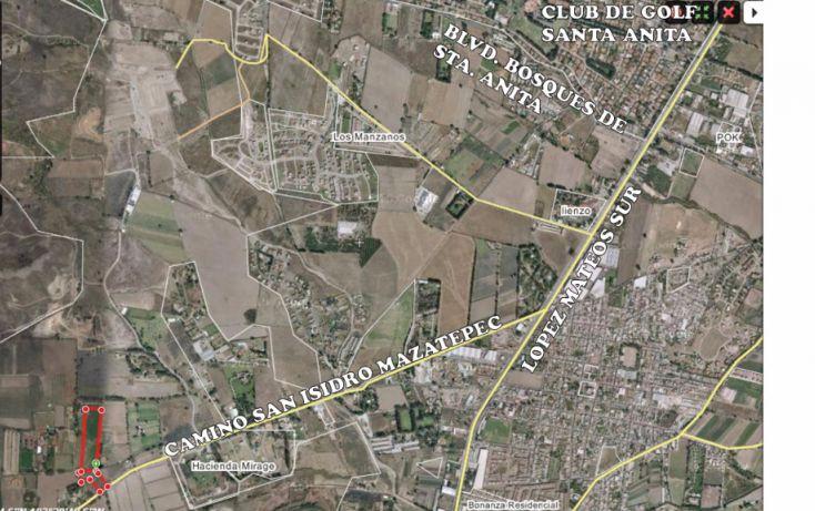 Foto de terreno habitacional en venta en, mirage, tlajomulco de zúñiga, jalisco, 1444025 no 02