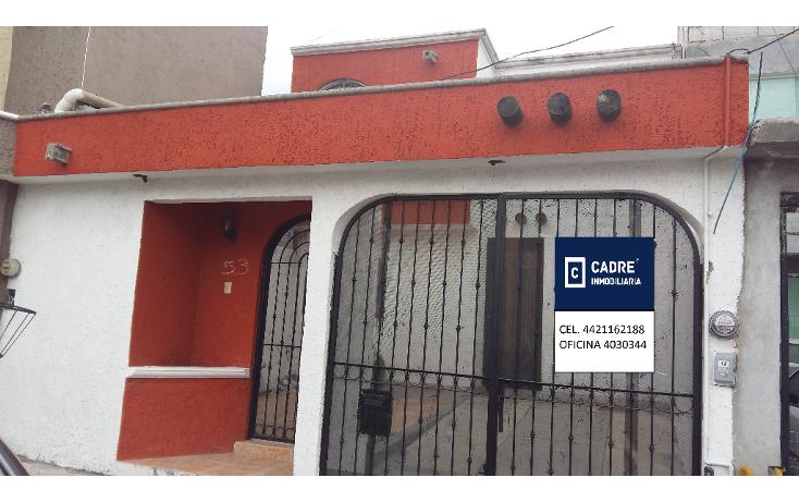 Foto de casa en venta en  , misión de san carlos, corregidora, querétaro, 1438253 No. 01