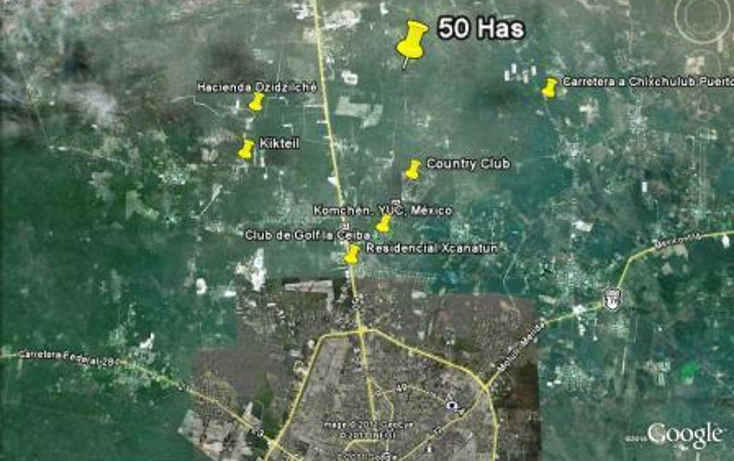 Foto de terreno habitacional en venta en  , misnebalam, progreso, yucatán, 1097213 No. 02