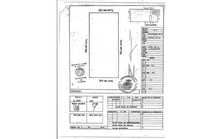 Foto de terreno habitacional en venta en  , misnebalam, progreso, yucat?n, 1121365 No. 02