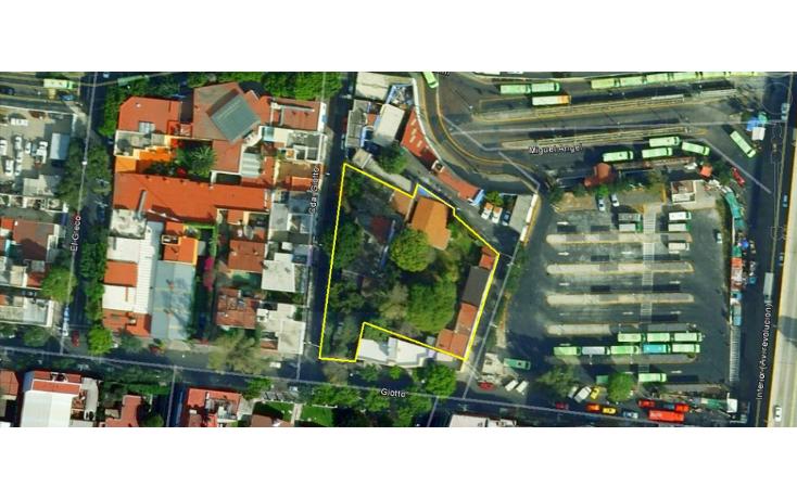 Foto de terreno habitacional en venta en  , mixcoac, benito juárez, distrito federal, 1899098 No. 01