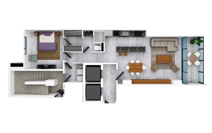 Foto de departamento en venta en  mls331, zona hotelera, benito juárez, quintana roo, 779225 No. 03