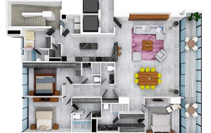 Foto de departamento en venta en  mls331, zona hotelera, benito juárez, quintana roo, 783881 No. 04