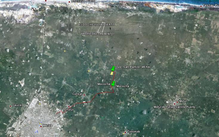 Foto de terreno comercial en venta en  , mococha, mocochá, yucatán, 1059543 No. 02